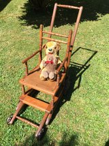 Antique High Chair & Stroller (converts from one to another in seconds). in Ansbach, Germany