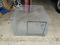 GALVANIZED STEEL ANIMAL cage in Bolingbrook, Illinois