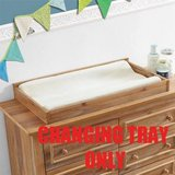 Macy Dresser Topper Changing Table (Natural Rustic) - NEW! in Naperville, Illinois
