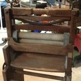 Antique Anchor folding double wringer, hand wash plunger, laundry baskets, Wood Iron Board, Chi... in Rolla, Missouri
