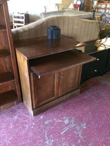 Solid Wood Desk Cabinet in Leesville, Louisiana