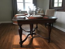 Solid Wood Dining Table in Schaumburg, Illinois