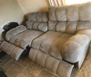 Couch with Electric Recliners - lower price! in Las Cruces, New Mexico
