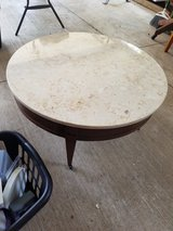 Real marble top antique table in Lawton, Oklahoma