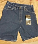 Brand New Men's Dickies Carpenter Jean Shorts Relaxed Fit Straight Leg size 33 waist in Naperville, Illinois