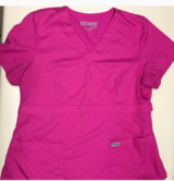 Grey's Anatomy XL Hot Pink Scrub Top in Macon, Georgia