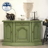Green Shabby Chic Sideboard in Ramstein, Germany