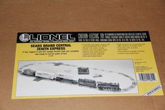Lionel Sears BRAND Central ZENITH Express O27 Electric Train Set With Extras in Yorkville, Illinois