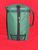 Insulated Wine Bottle Padded Cooler Travel Bag ~ Picnic Travel Tote NEW in Westmont, Illinois
