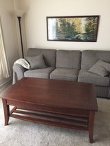 Macy's Cherry Wood Coffee Table in Bolingbrook, Illinois
