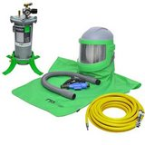 NEW COMPLETE AIR FED SANDBLASTING HOOD NOVA 3 SYSTEM FOR SHOT BLASTING WITH COOL TUBE in Ruidoso, New Mexico