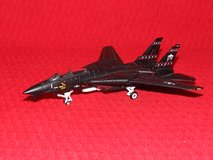 USAF F-14 Blackcat Hallmark Legends in Flight Diecast Model Airplane in Glendale Heights, Illinois