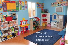 WANTED: Preschool Toys or Items in Aurora, Illinois