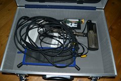 Cables with case..and microphone..light in Grafenwoehr, GE