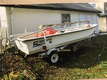 Boat and trailer - Carolina skiff in Chicago, Illinois