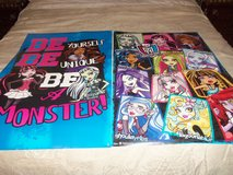 Monster High Bedroom Set and extras in Fort Knox, Kentucky