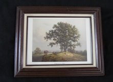 """Framed Print """"Companions in Nature"""" by Dalhart Windberg in Kingwood, Texas"""