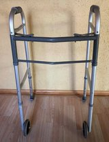 Sunrise Medical Guardian Adjustable Aluminum Walker  Model 30755p  300lb in Lockport, Illinois