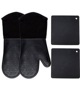 Homwe Silicone Oven Or Grill  Mitts and Potholders (4-Piece Sets) in Fort Campbell, Kentucky