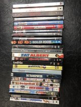 DVDs $2.00 ea. or two for $3.00 in Travis AFB, California