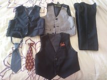 Baby boy suits and other dress clothes in 29 Palms, California