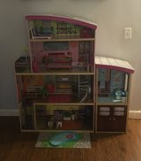 Kid Kraft Wood Doll House and Accessories in Aurora, Illinois