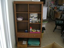 STORAGE SHELVES WITH ONE DRAWER in Oswego, Illinois