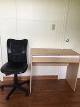 Desk with chair in Okinawa, Japan
