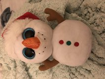 Snowman TY Beanie Boo Christmas Addition in Fort Carson, Colorado