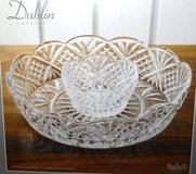 New! Dublin Crystal Chip & Dip Set ~Shannon by Godinger in Orland Park, Illinois