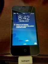 Iphone 4 with box and charger in Camp Lejeune, North Carolina
