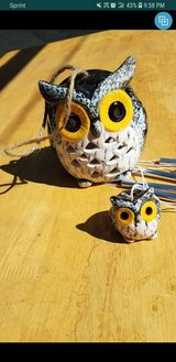 owl wind chime in Fort Irwin, California