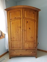 Armoire/ Media Center/Dresser. Solid Wood by Thomasville. Reduced in Chicago, Illinois