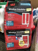 Window Insulator Kits (lot of 7) in Fort Campbell, Kentucky