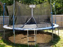 Trampoline in Eglin AFB, Florida