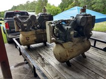 2 Ingersoll Rand 30 Gallon Air Compressors in Cherry Point, North Carolina