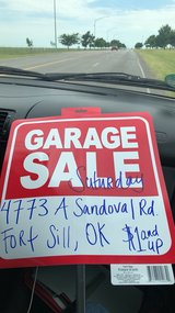 FORT SILL GARAGE SELL in Lawton, Oklahoma