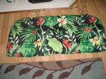 Outdoor bench cushion in Naperville, Illinois