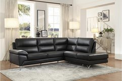 BRAND NEW! QUALITY, COMFY, CONTEMPORARY 100% LEATHER SOFA CHAISE SECTIONAL:) in Camp Pendleton, California