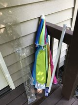 Beach Umbrella- Brand New in Glendale Heights, Illinois
