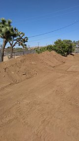 Free dirt in Yucca Valley, California