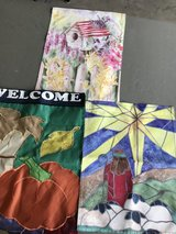 3 Mini Garden Flags in Chicago, Illinois