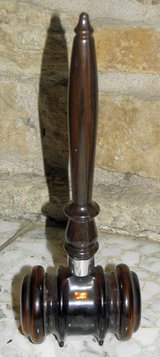 Avon 1967 Gavel After Shave Lotion Decanter in Palatine, Illinois