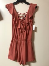 BRAND NEW RUST ORANGE ROMPER (M) in Okinawa, Japan