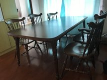 Dining table with 6chair. Adjustable in Okinawa, Japan