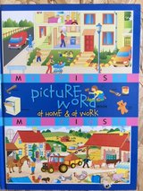 Children's My First Picture Word Book at Home and Work in Ramstein, Germany