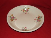 Extra Large Pasta / Fruit Bowl / Pink Rose Flower Design by Homer Laughlin in Lockport, Illinois