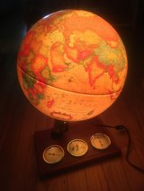 Lighted Globe in Oswego, Illinois