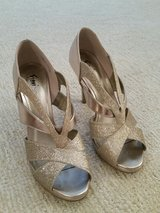 Champagne gold heels / shoes - Size 10 in Chicago, Illinois