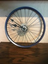 "Hand Made New 16 "" Bike Wheel & Gears Clock in Naperville, Illinois"